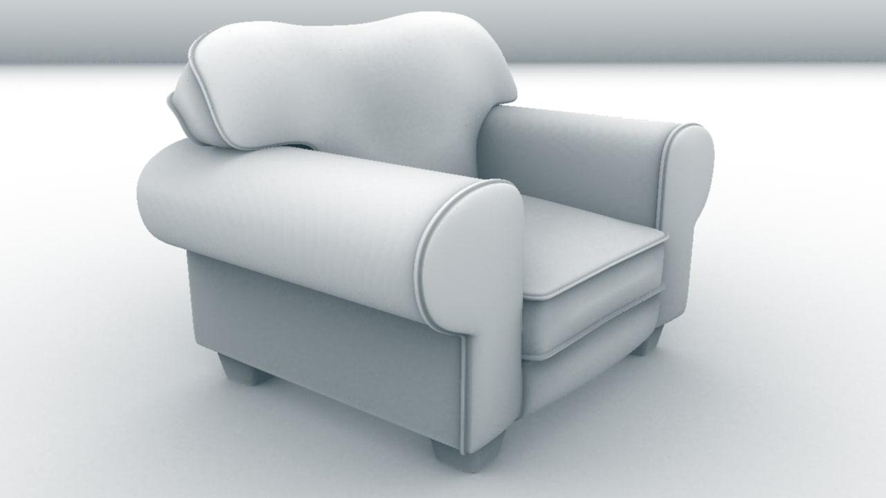 3d pearce armchair coffee shop