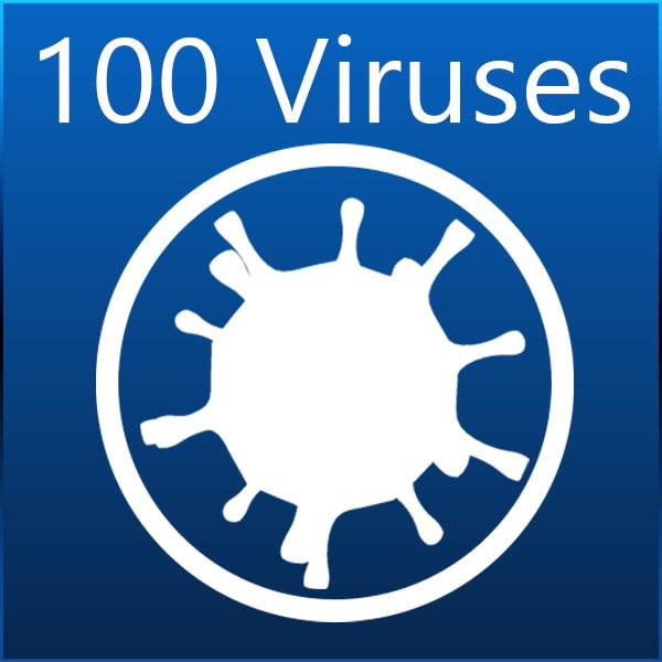 3d virus hiv human model