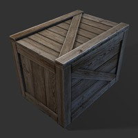 Crate (Game ready)