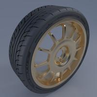 3d model disk oz racing