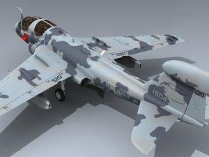 3d model navy prowler vaq-142