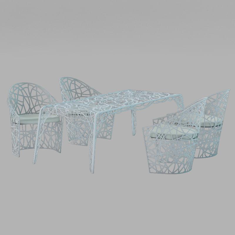 3d max garden furniture castelli