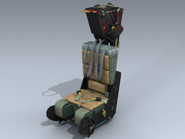 gruea7 ejection seat late 3d 3ds