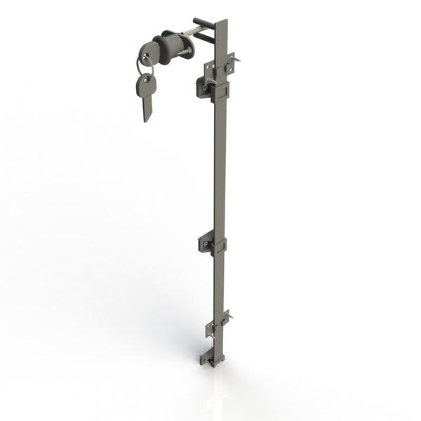 3d max castle furniture lock