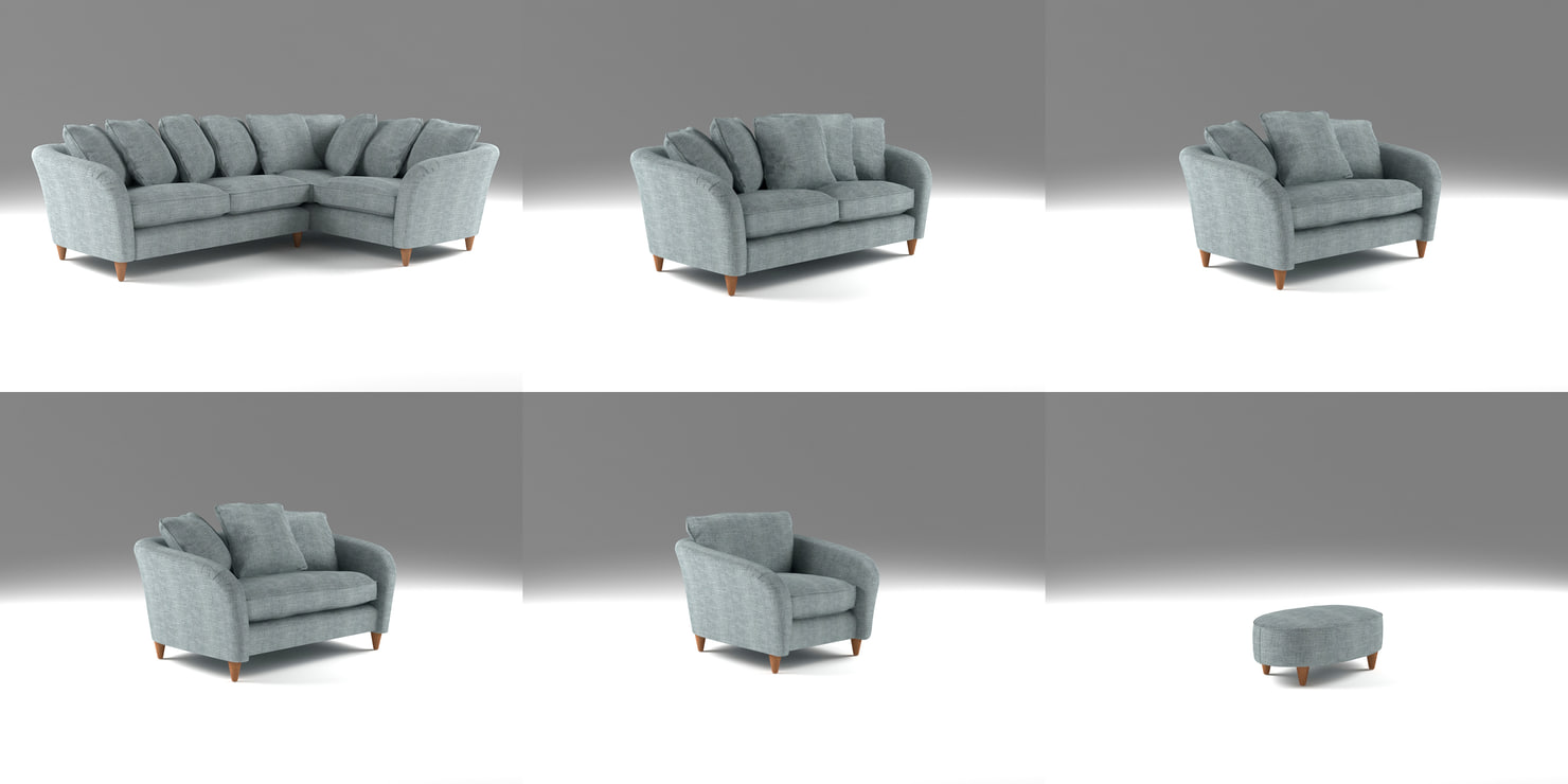 3d model chair sofas