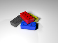 Generic Lego Brick 4x2 *>PLEASE RATE<*