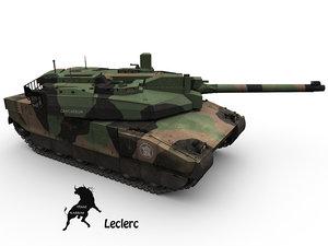 max french tank leclerc scheme