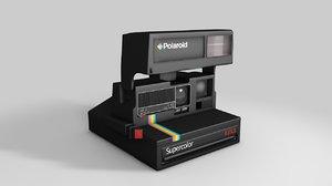 3d model polaroid supercolor 635cl 1
