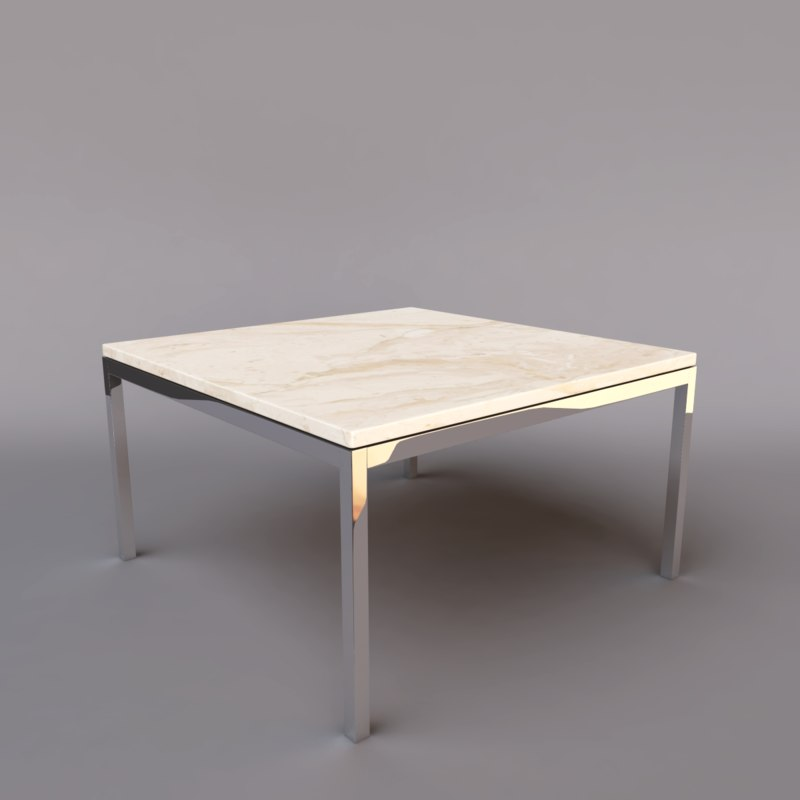 3ds max florence knoll table
