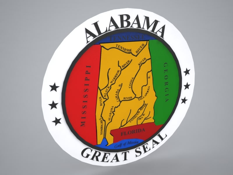 3d model seal alabama