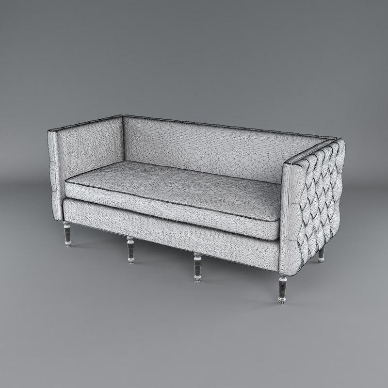 maxine sofa 3d model