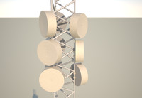 telecom mast 10 meter, 33 feet