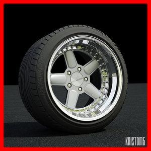 3d ac schnitzer wheel