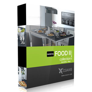 cgaxis volume 29 food 3d