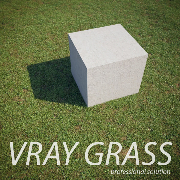 3d realistic grass