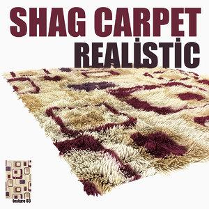 shag carpet model