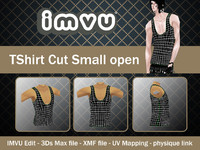 TShirt Cut Small open
