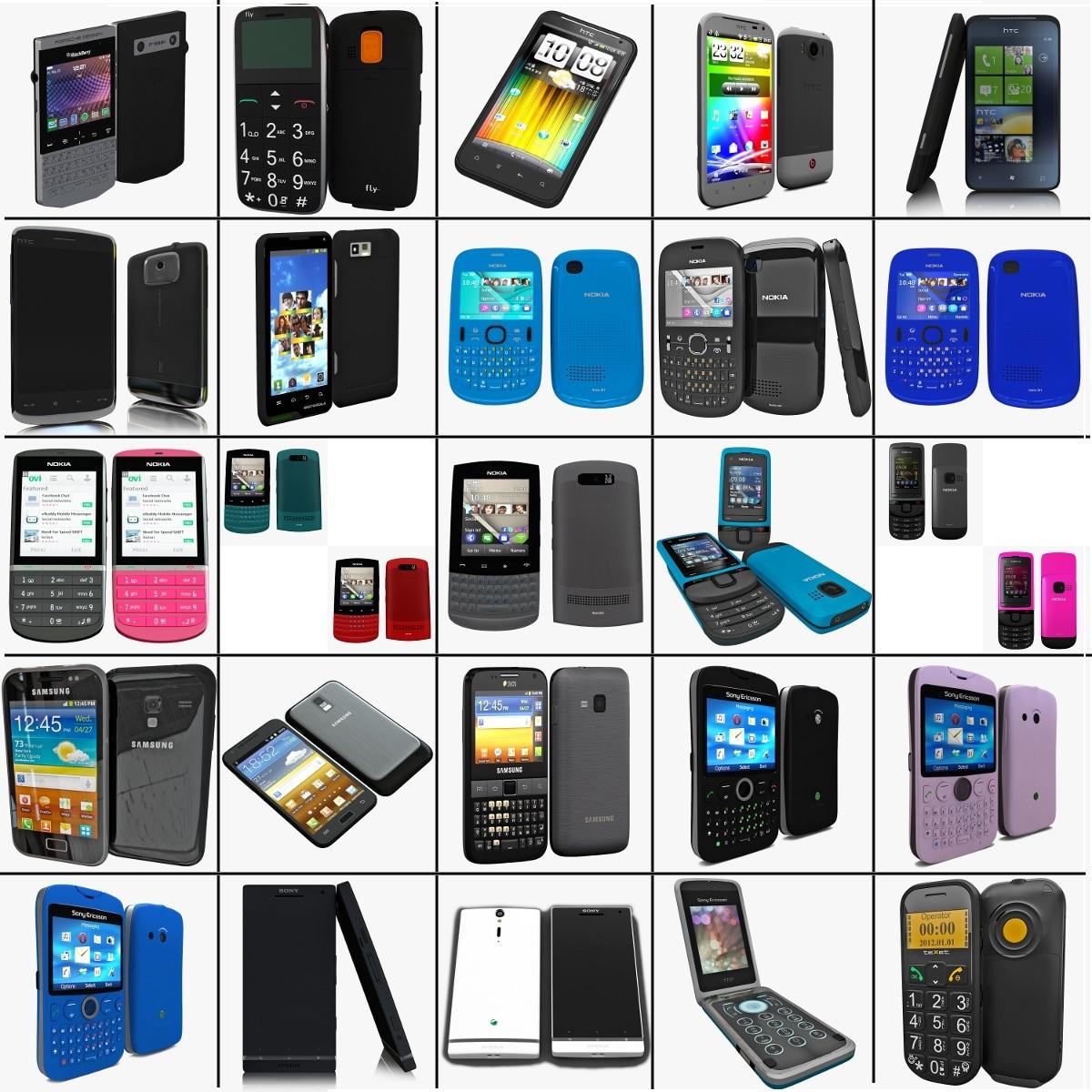 3d model cellphones 82