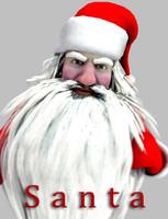 character santa max
