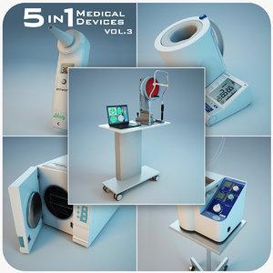 medical devices 5 1 3d model