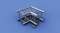 3d truss piece