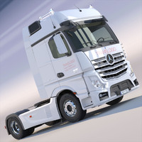 New Mercedes Actros MP4 GigaSpace Truc