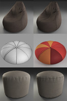 Poufs collection