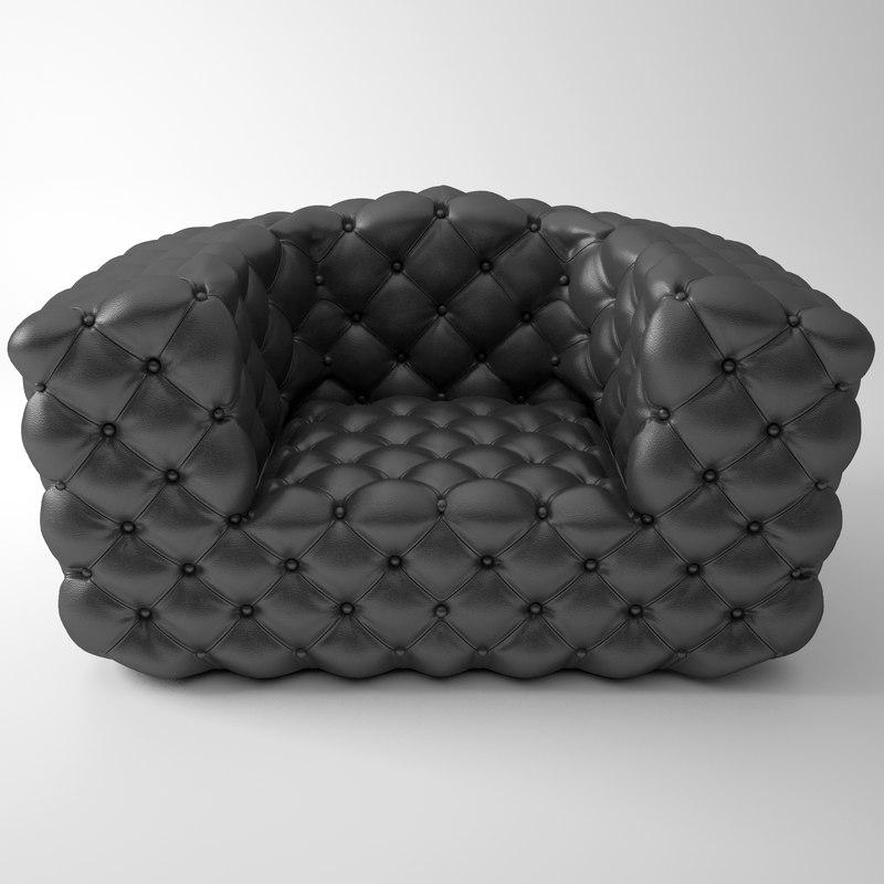 3ds max chestermoon armchair baxter 135