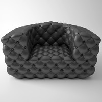 3ds max chestermoon armchair baxter 135