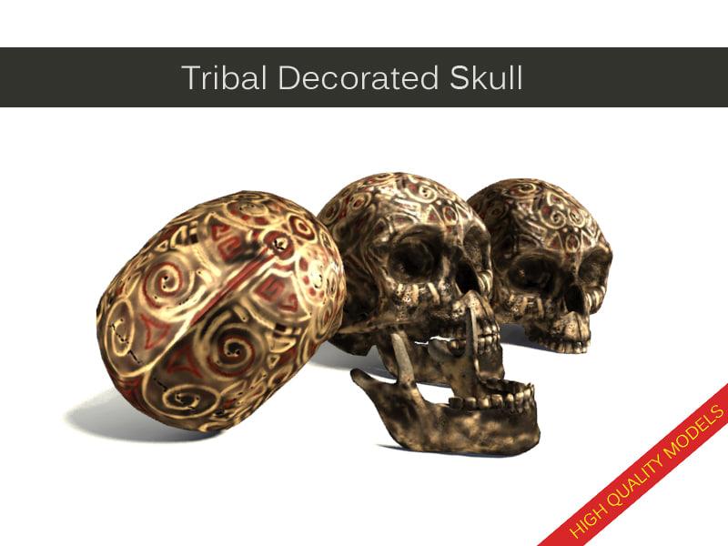 skull zbrush 3ds