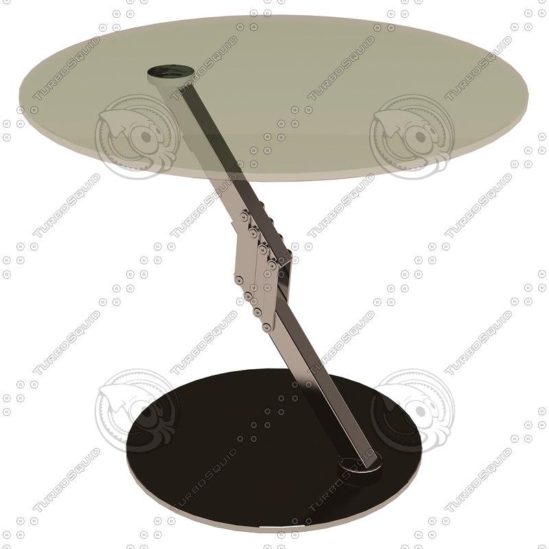 eichholtz table clifton 3d model