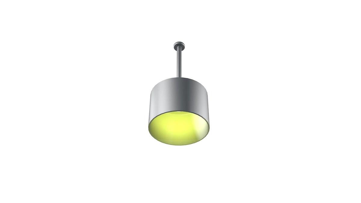 3d model modern light