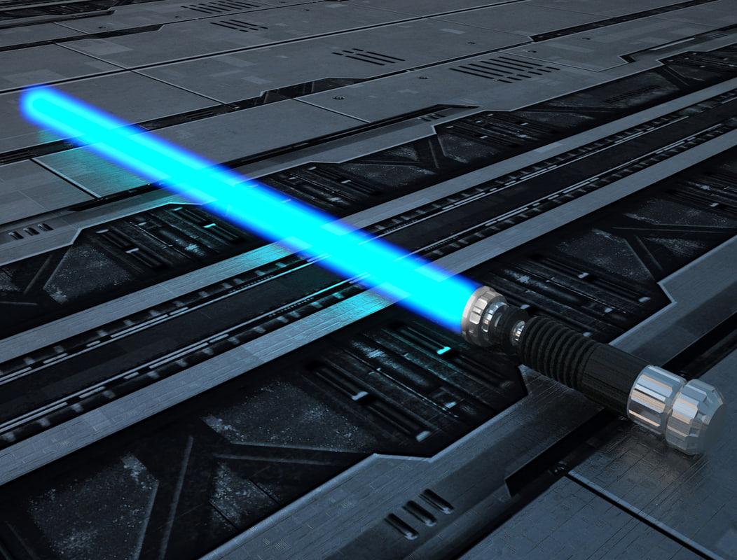 max obi-wan kenobi lightsaber