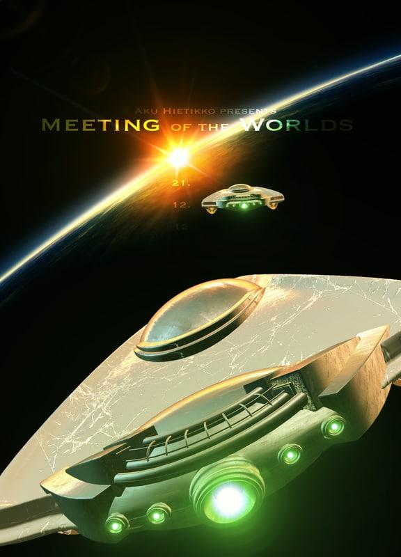 3d meeting worlds model