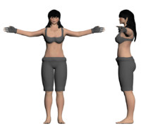 3ds max female format