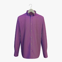 Purple Shirt on a Hanger