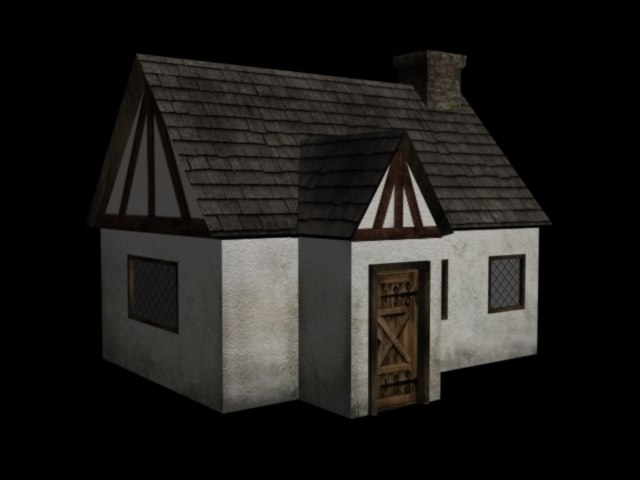 3d model of small house