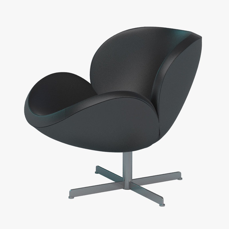 lear chair boconcept 3d max