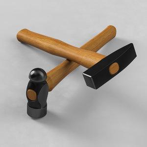 woodcraft hammer 3d model