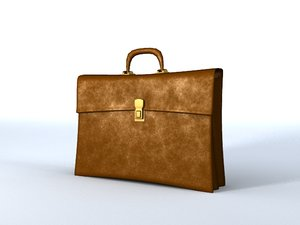 3d model of briefcase case