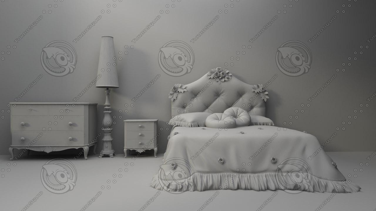 miscellaneous furniture 3d model