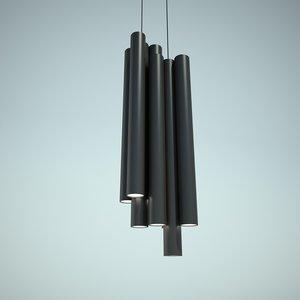 chandelier ceccotti collezioni 3d model
