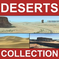 Desert Collection Terrains Landscape