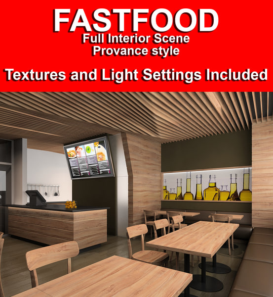scene interiors lights 3d max