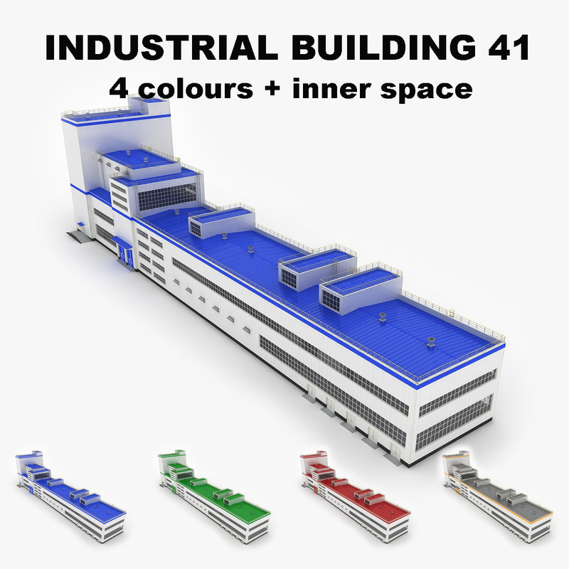 3ds large industrial building 41