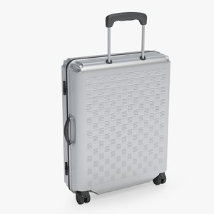3d model suitcase luggage case