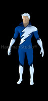 Quicksilver hero 3d model
