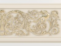 3ds max classical moulding 05