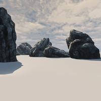 maya rock cliff