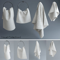 3d model of towel